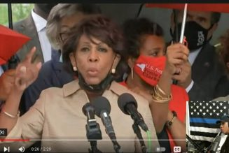 Responding To Maxine Waters' Wig  About The Border Patrol