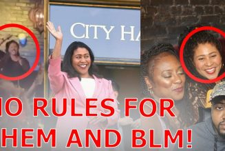 San Francisco Mayor London Breed Caught Clubbing MASKLESS With BLM Despite STRICT Mask Mandate