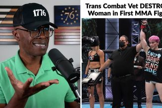"""Trans COMBAT Veteran DESTROYS Woman In """"Their"""" First MMA Fight!"""