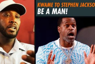 Kwame To Stephen Jackson: Be a Man, Not a Celebrity
