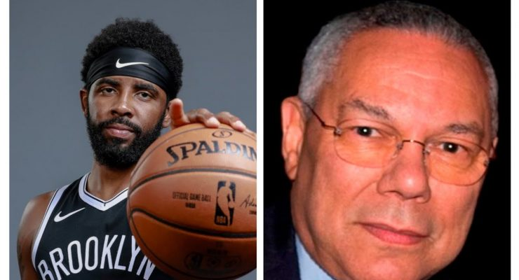 Let's talk about Kyrie Irving and Colin Powell