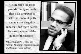Malcolm X on How The Mainstream Media Operates