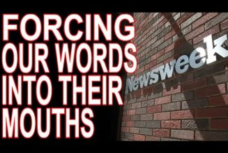 """Newsweek Forced To Say """"Descendants of American Slaves,"""" And Bootlicks Failing At Damage Control"""