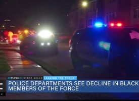 Police Departments Notice Decline in Black Officers