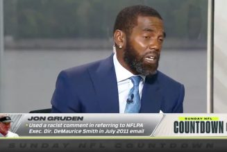 Randy Moss Crying On National TV Behind John Gruden's Racist Email!  | Dr. Rick Wallace