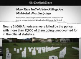 Study: More Than Half of Police Killings Not Accounted For